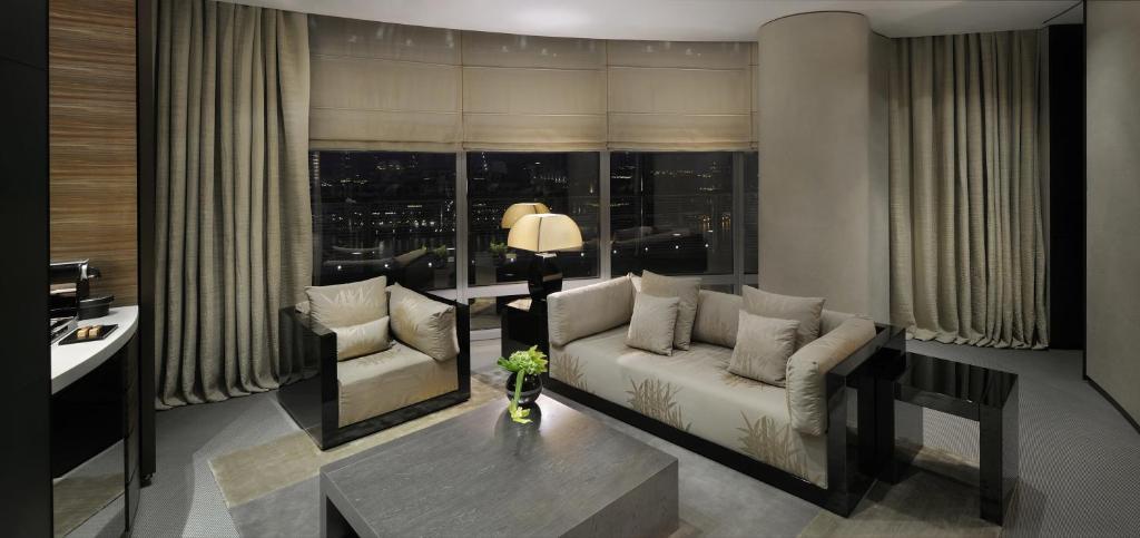 A room at the Armani Hotel Dubai.