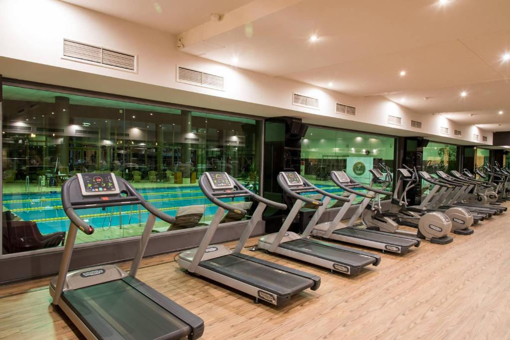 The fitness center and/or fitness facilities at Hotel Marinela Sofia