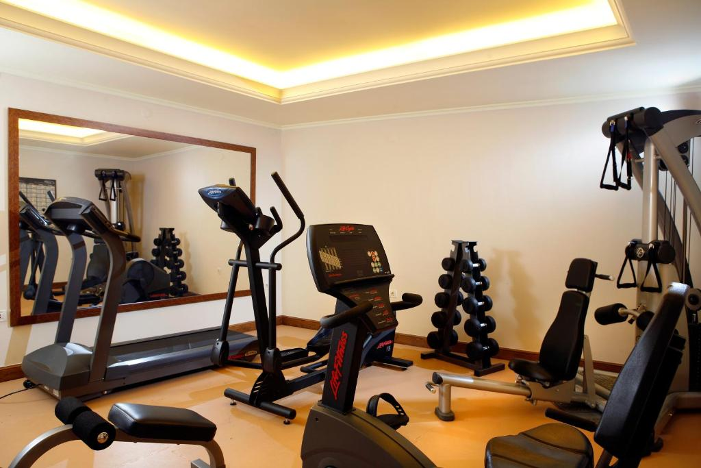 The fitness center and/or fitness facilities at Hotel Ippoliti
