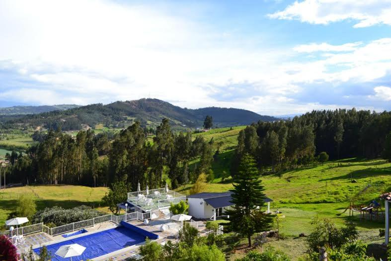 A view of the pool at Miravalle Suites or nearby