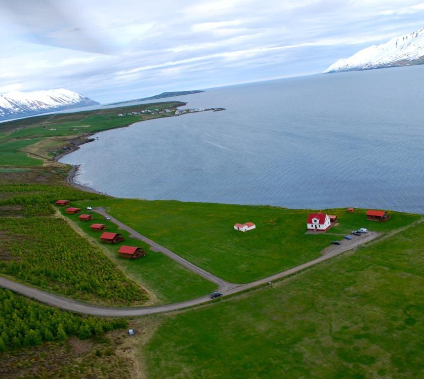 A bird's-eye view of Ytri Vík