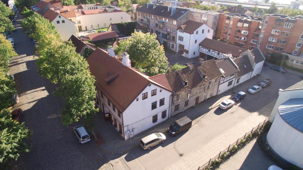 Litinterp Klaipeda Guest House с высоты птичьего полета