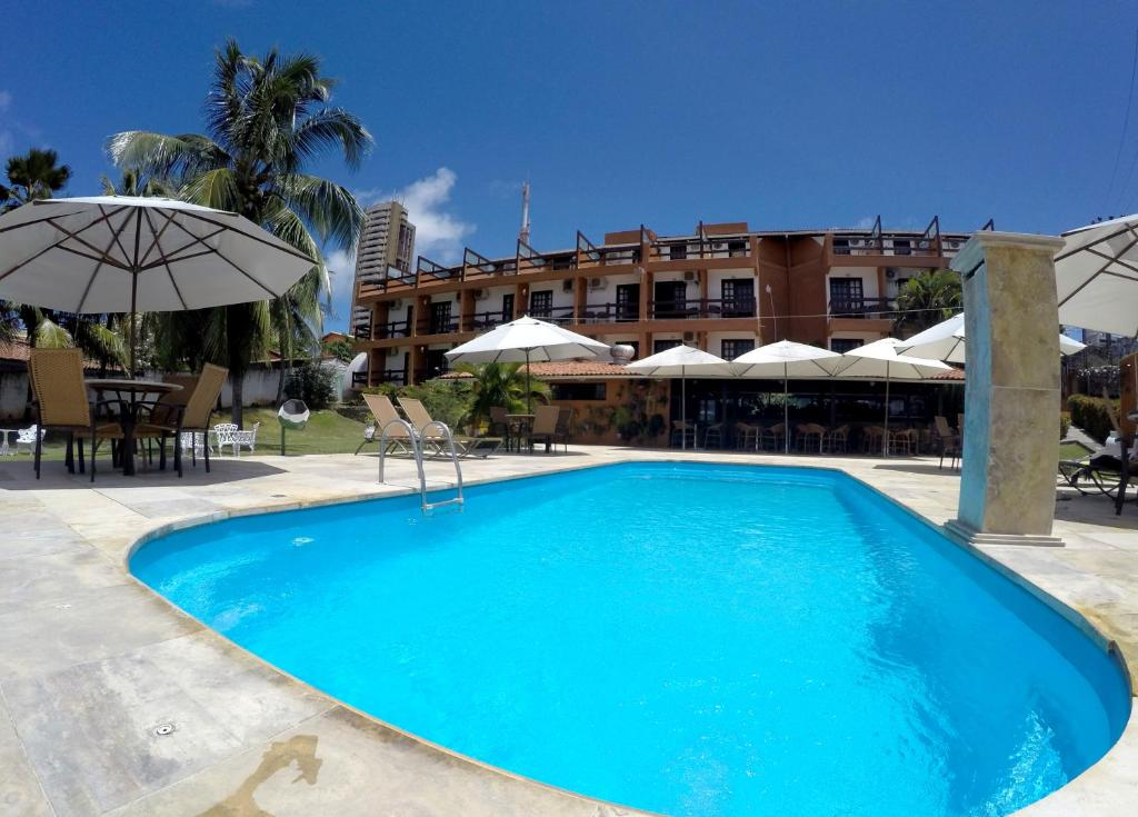 The swimming pool at or near Atol das Rocas Hotel