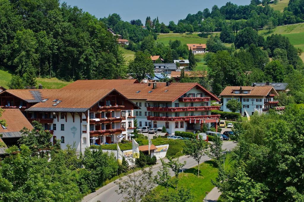 A bird's-eye view of Königshof Hotel Resort