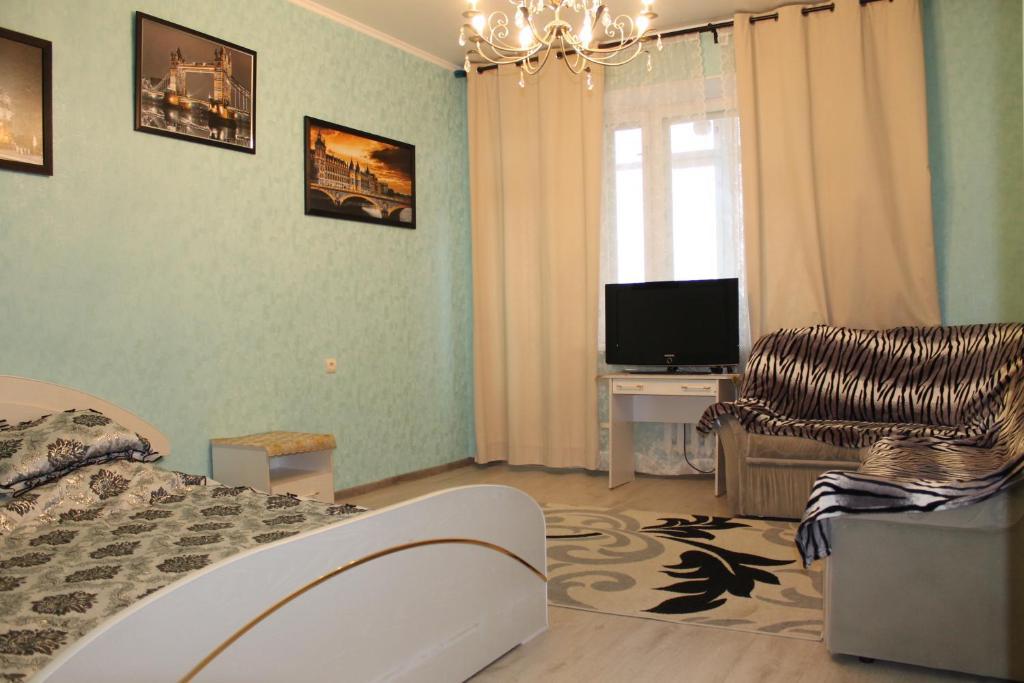 Гостиная зона в Apartment Kamala