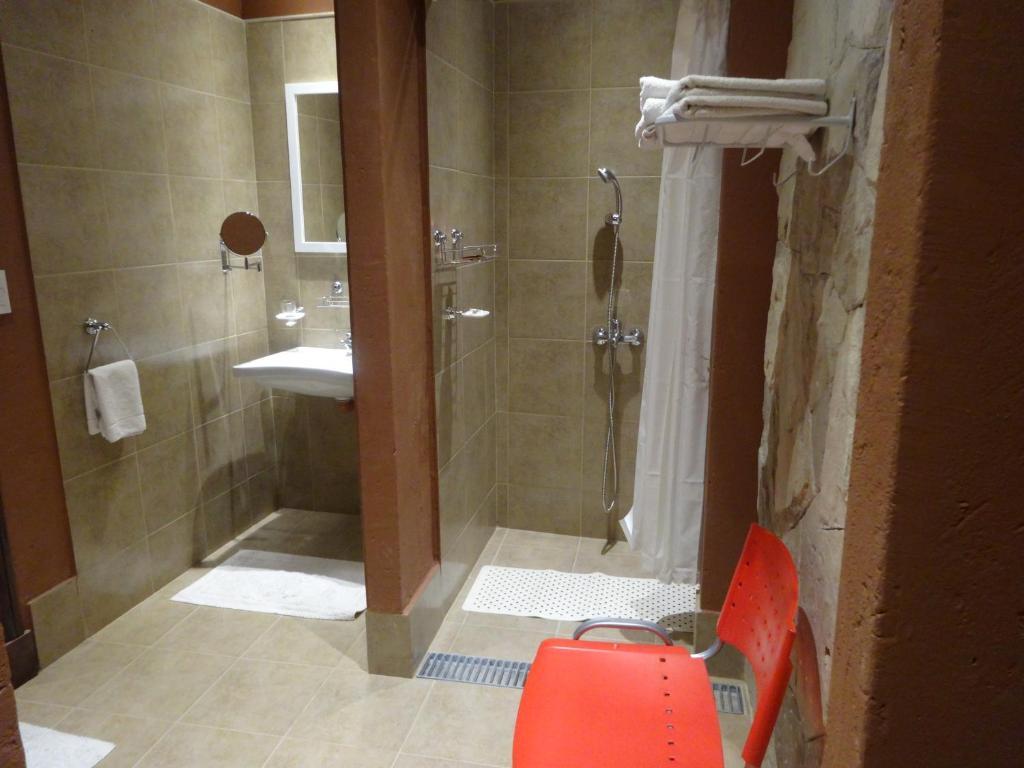 Um banheiro em Sissi Haz Hotel