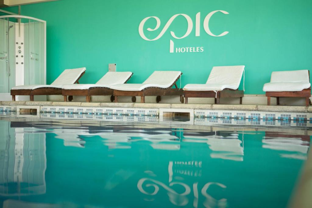 The swimming pool at or near Epic Hotel San Luis