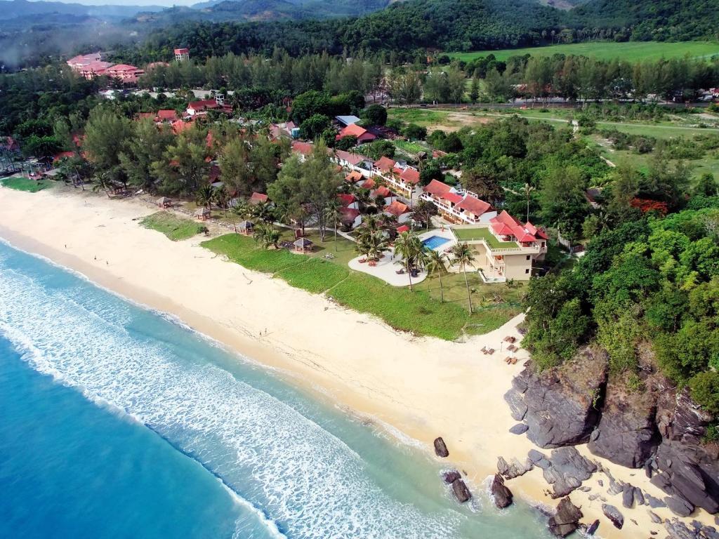 A bird's-eye view of Frangipani Langkawi Resort