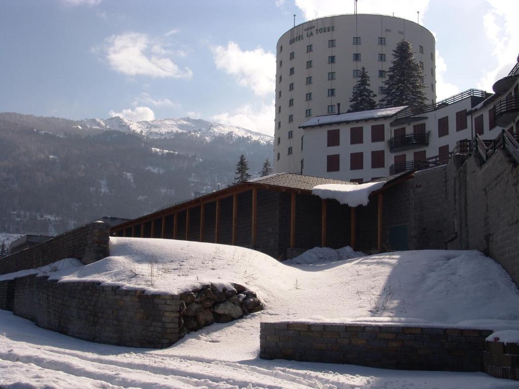 Hotel la Torre durante l'inverno