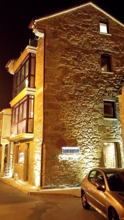 The facade or entrance of Apartamentos Praia do Capitàn