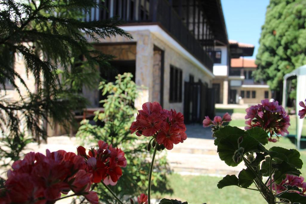 A garden outside Guest Houses Kedar