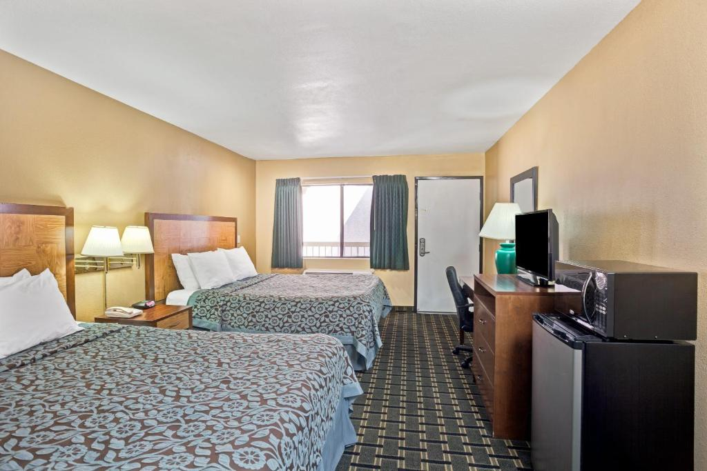 A room at the Days Inn by Wyndham Whittier Los Angeles.