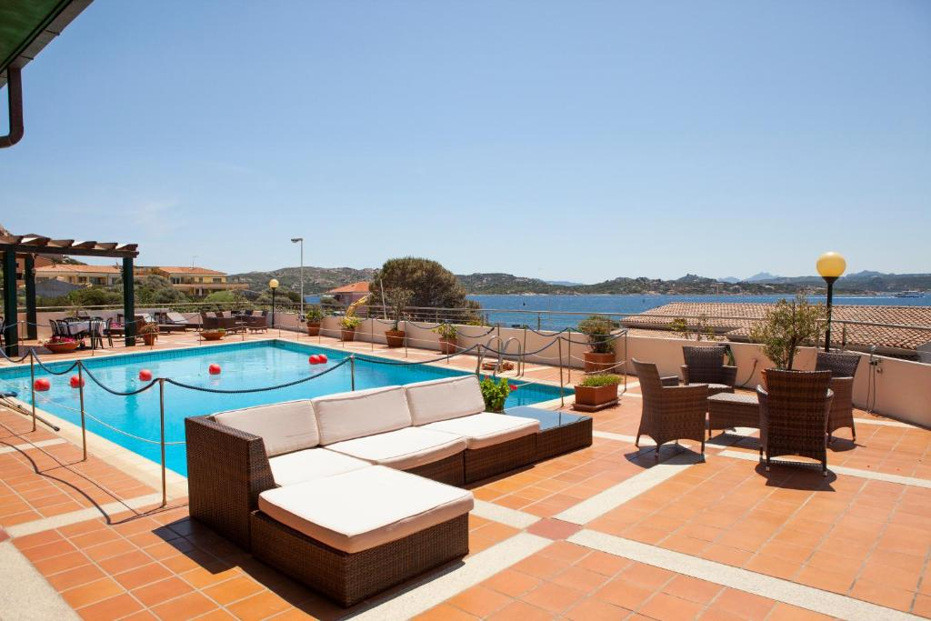The swimming pool at or near Hotel Miralonga