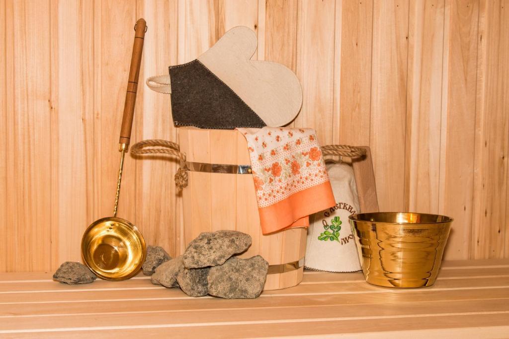 Ванная комната в Guesthouse Tatiana