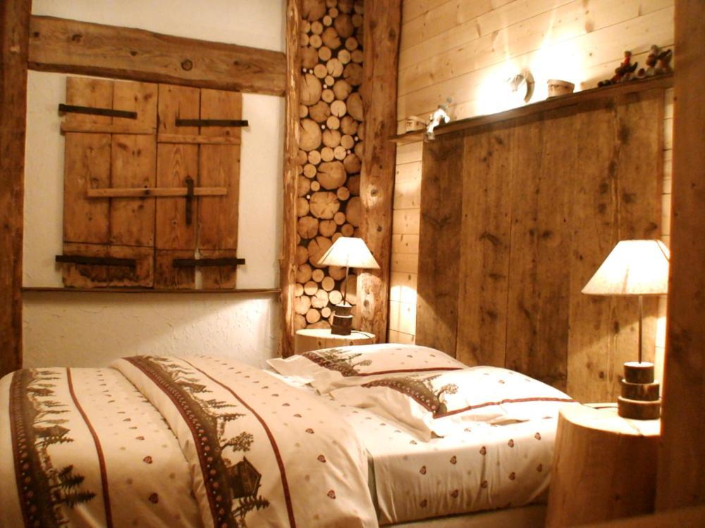 Un ou plusieurs lits dans un hébergement de l'établissement La Fée Verte