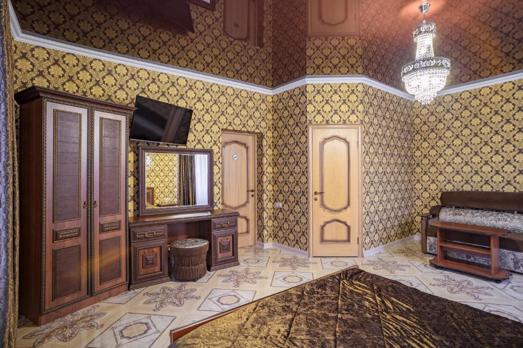Телевизор и/или развлекательный центр в Отель Дива