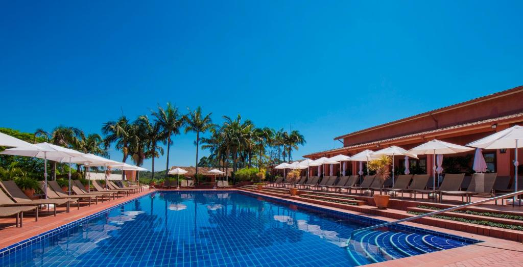 A piscina localizada em Hotel Villa Rossa ou nos arredores