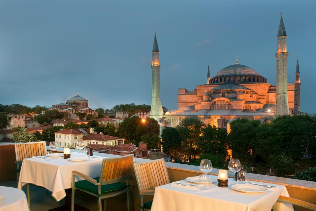 A restaurant or other place to eat at The And Hotel Sultanahmet- Special Category