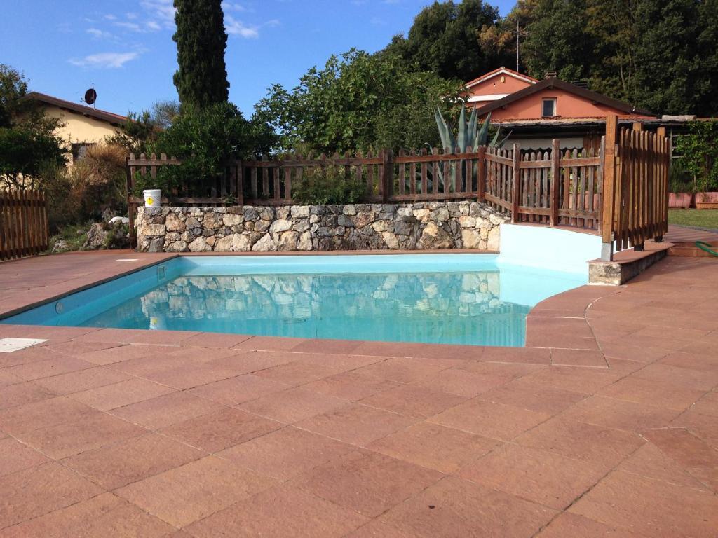 "The swimming pool at or near Agriturismo ""La Rosa Canina"""