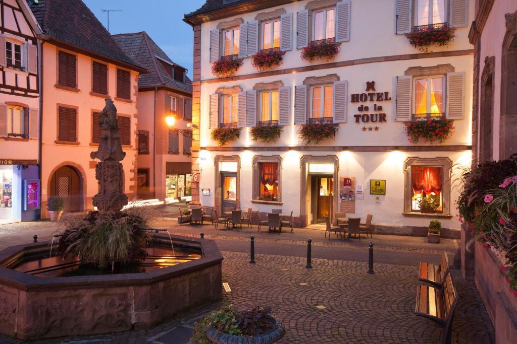 Hotel De La Tour Ribeauville, France