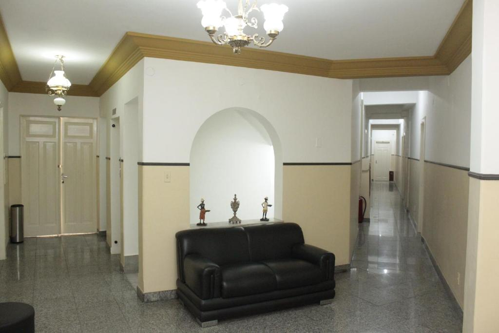 A seating area at Sul América Palace Hotel