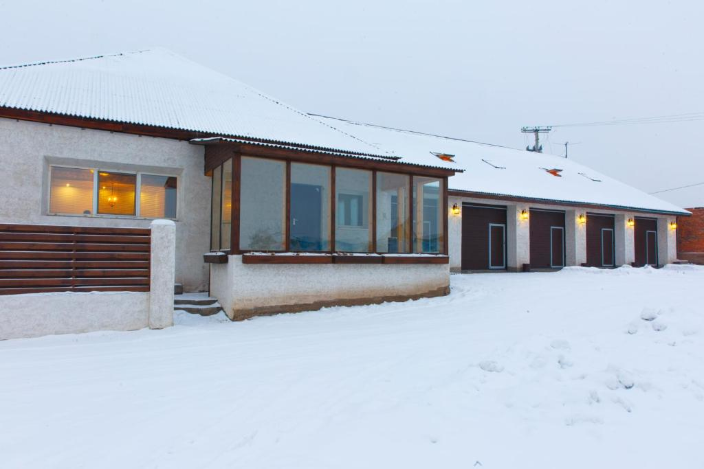 Townhouse зимой