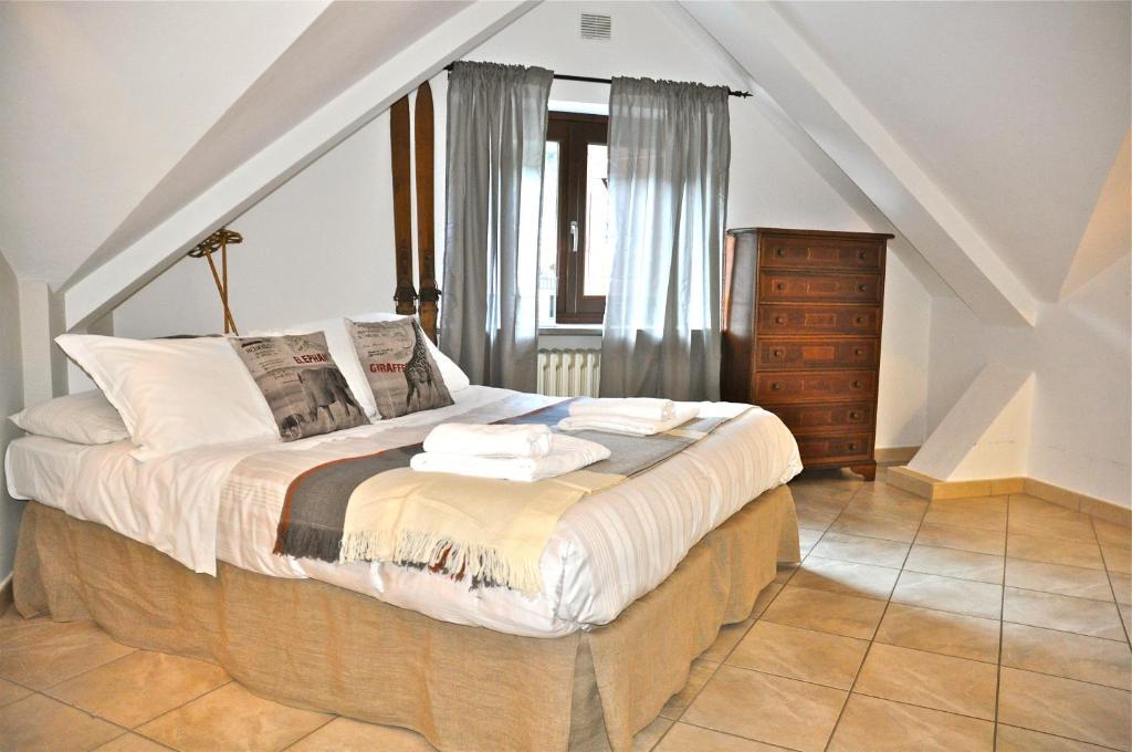 Ein Bett oder Betten in einem Zimmer der Unterkunft Casa Del Re
