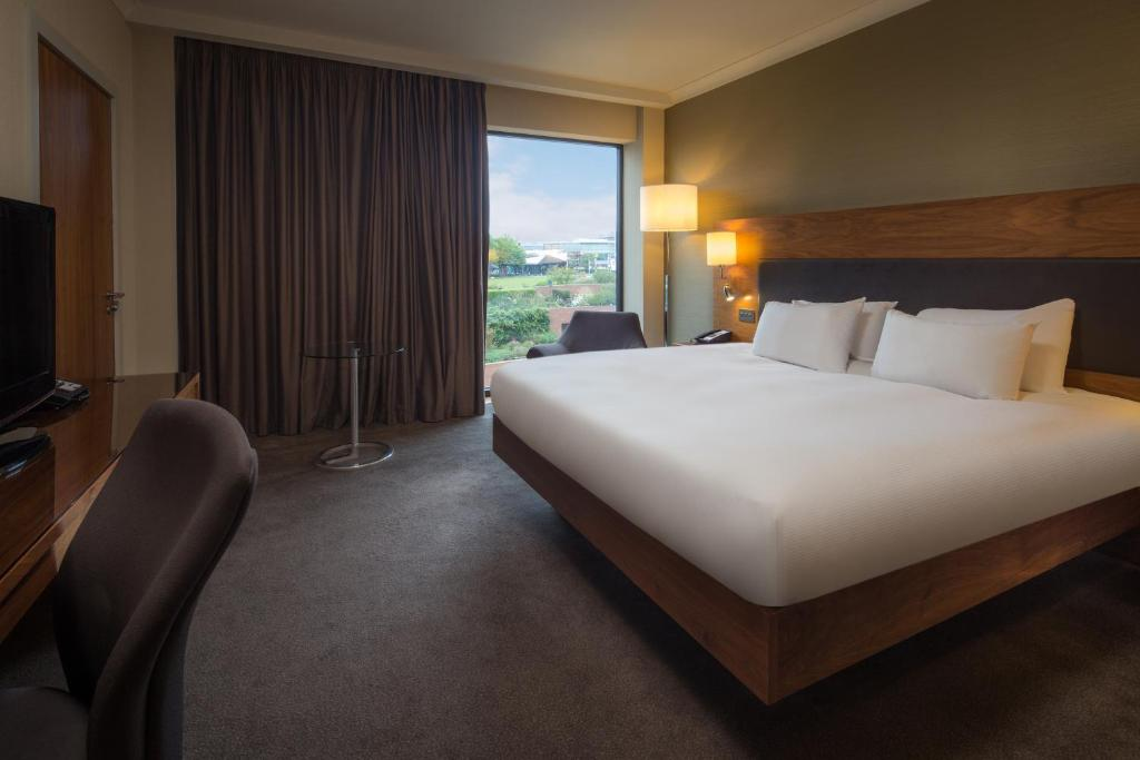 A room at the Hilton Liverpool City Centre.