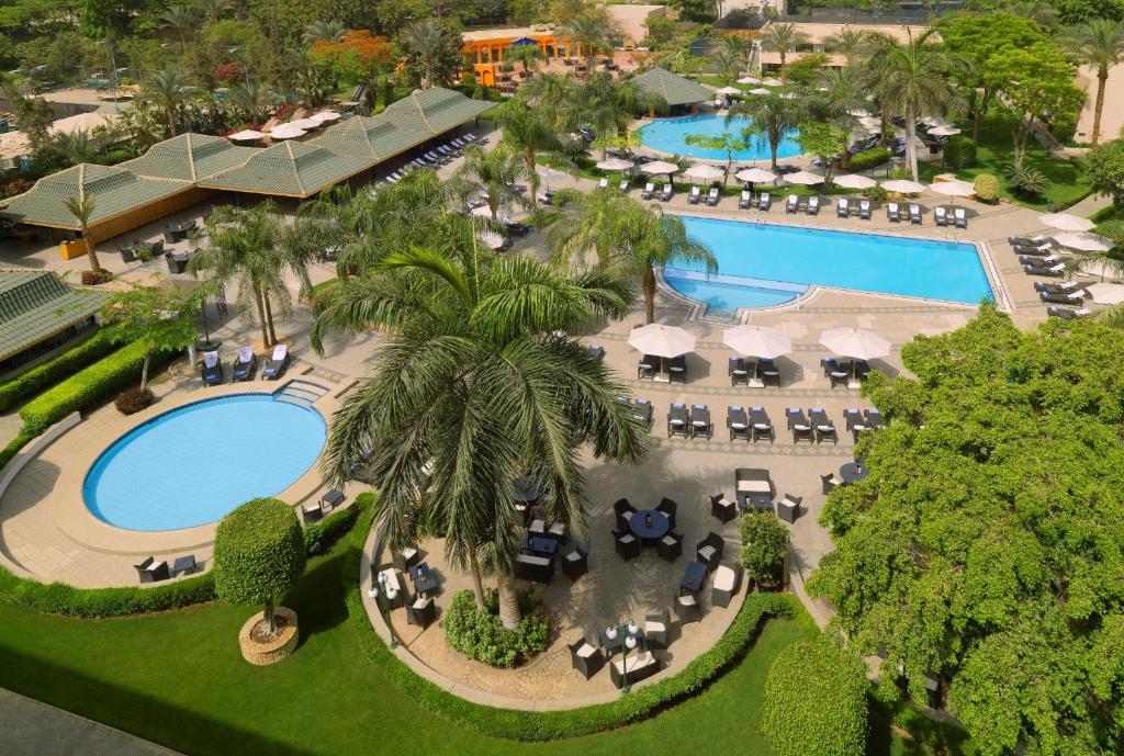 Hilton Cairo Heliopolis Hotel a vista de pájaro