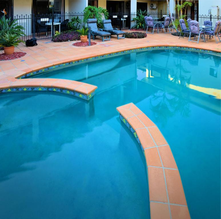 The swimming pool at or near Quest Ascot