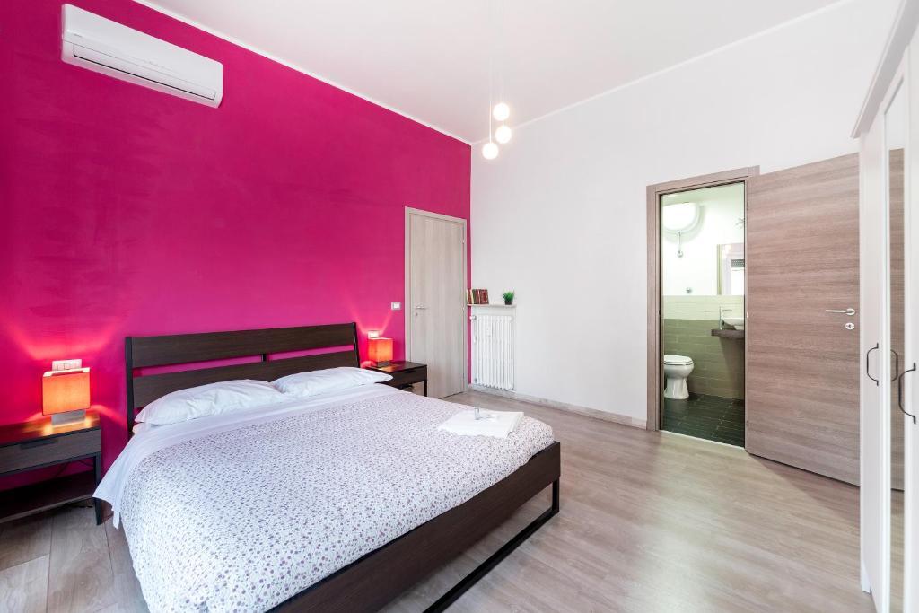 Cama o camas de una habitación en Rome To You B&B