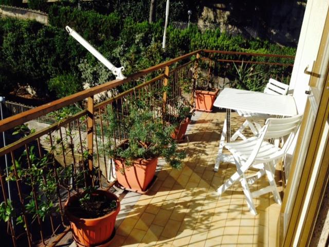 A balcony or terrace at Chiavi Antiche B&B
