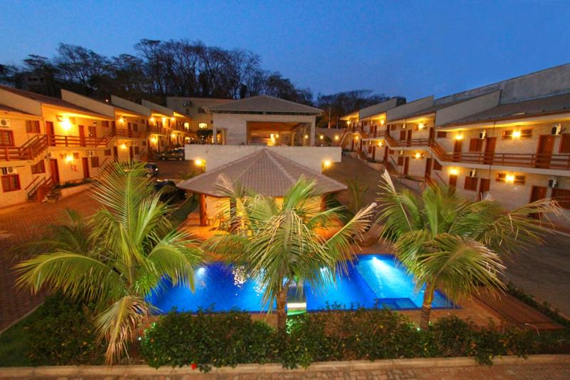 The swimming pool at or near Hotel Pousada Santa Rita