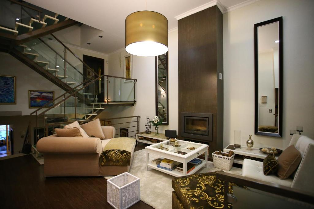 A seating area at Luxury Guest House_Opus One