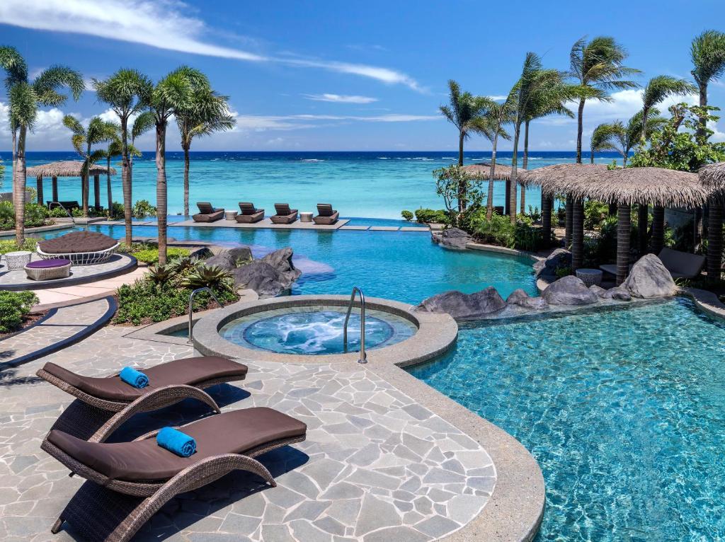 The swimming pool at or near Dusit Thani Guam Resort