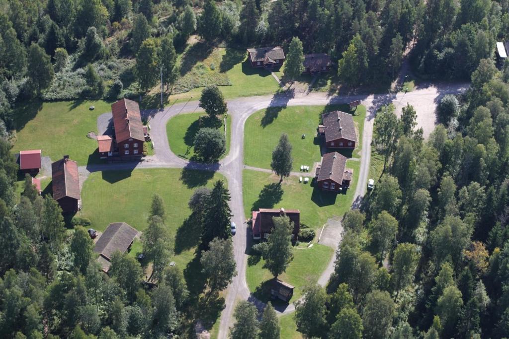 Een luchtfoto van Sunne Hembygdsgård B&B