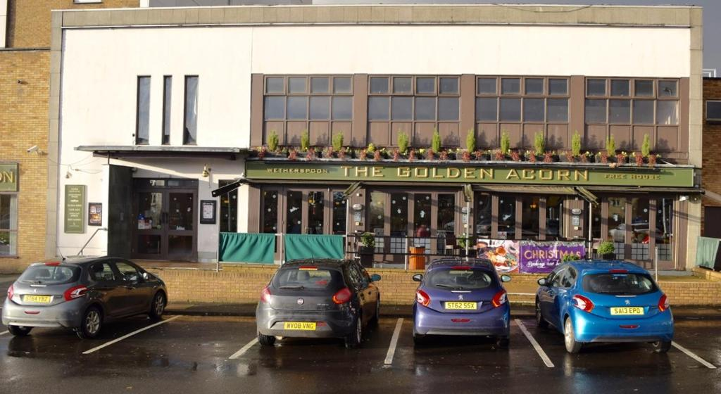 Golden Acorn Hotel- a JD Wetherspoon Hotel - Laterooms