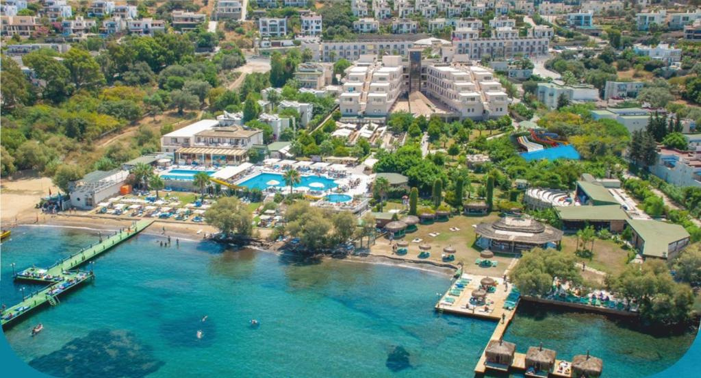 A bird's-eye view of Golden Age Bodrum Hotel All Inclusive