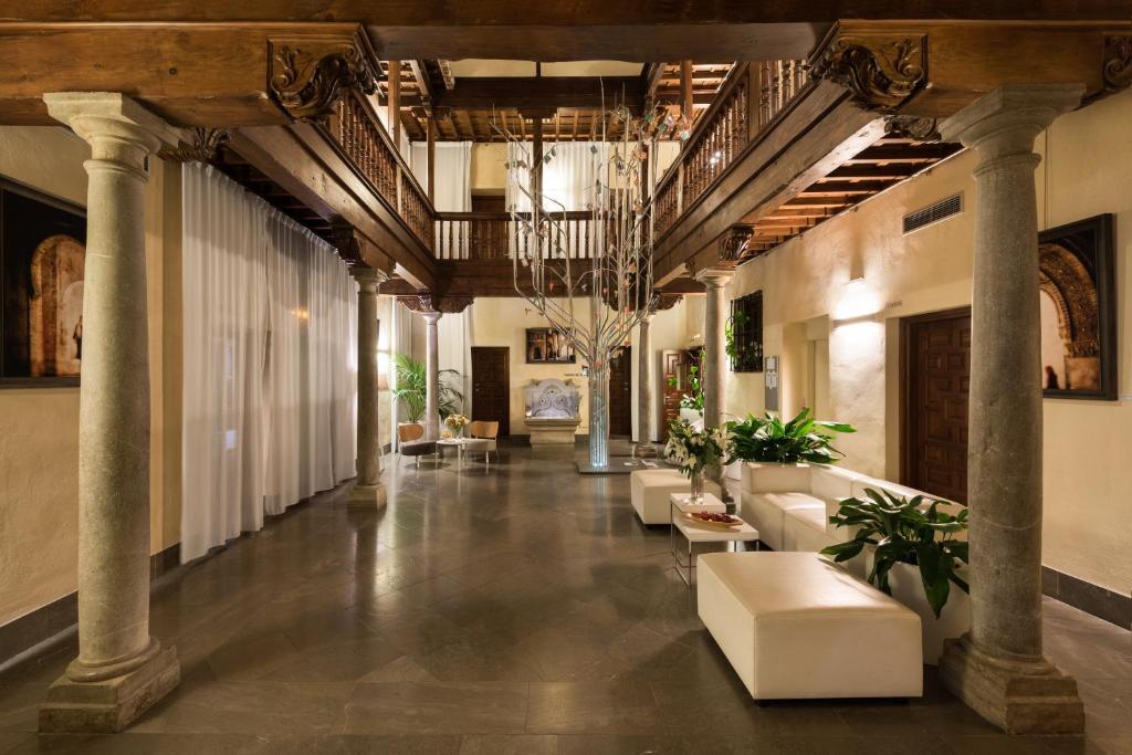 Lobbyn eller receptionsområdet på Gar Anat Hotel Boutique