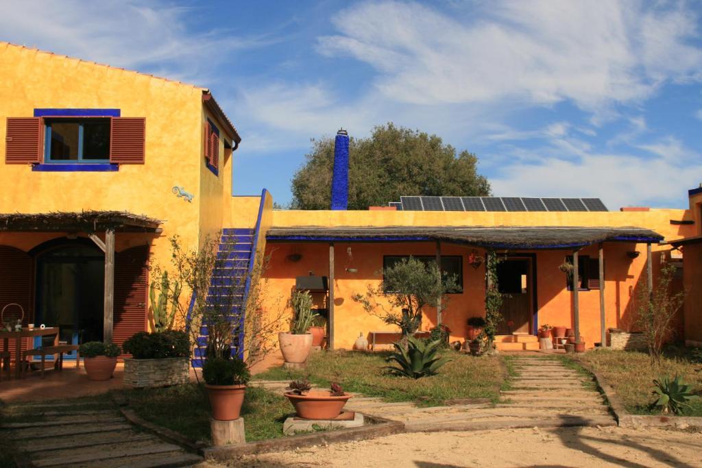 A porch or other outdoor area at El Vuelo de la Libélula