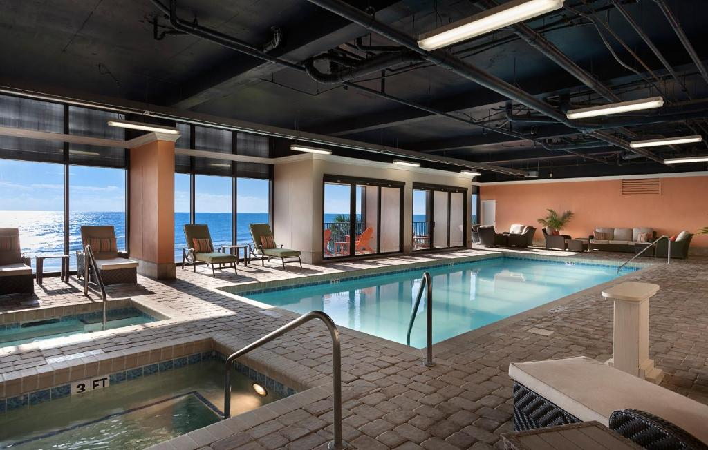 The swimming pool at or near Sand Dunes Resort & Suites