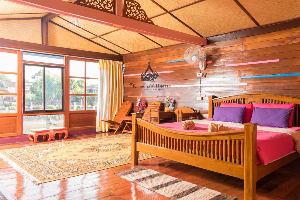 A room at Kanecha's Home