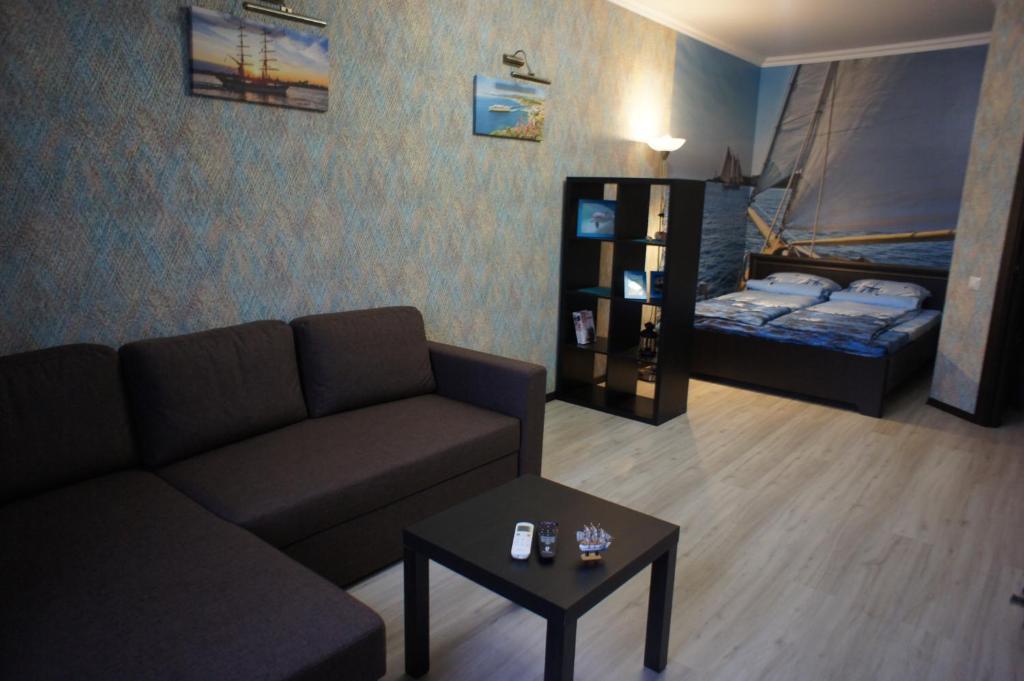 Гостиная зона в ЖК Панорама Стадион Краснодар