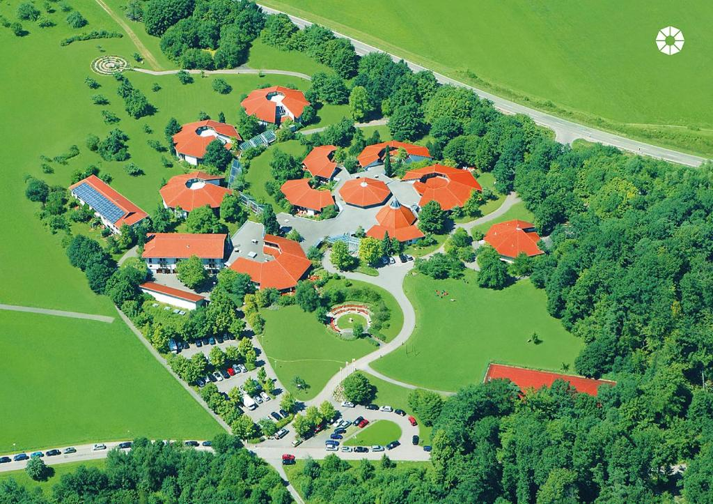 A bird's-eye view of Hohenwart Forum