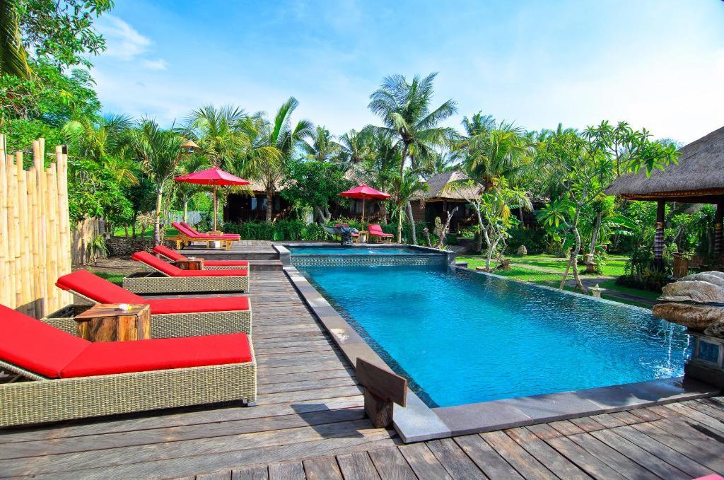 The swimming pool at or near The Jingga Villas