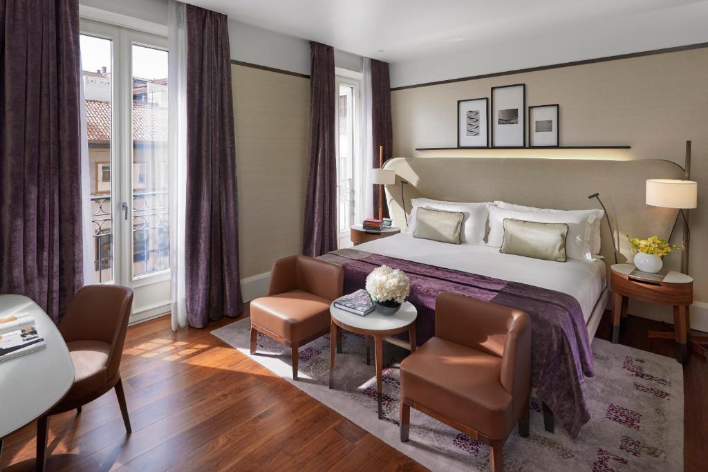 Покращений номер з двоспальним ліжком розміру