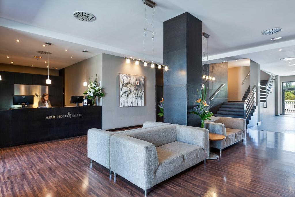 The lobby or reception area at Aparthotel Attica 21 Vallés