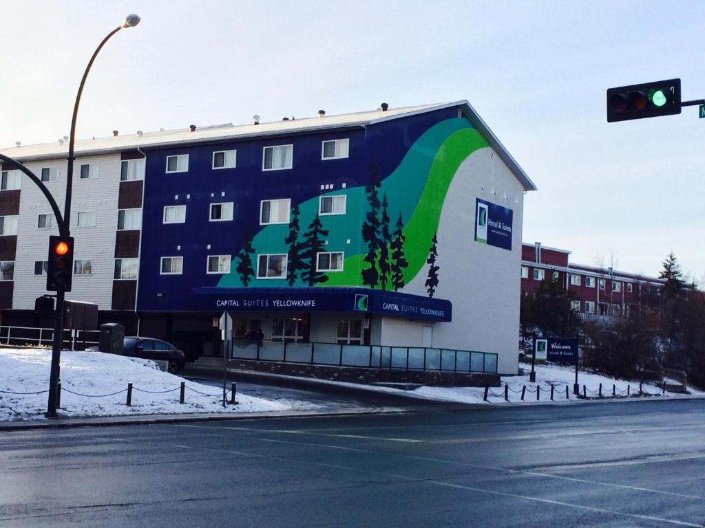 Capital Suites Yellowknife during the winter