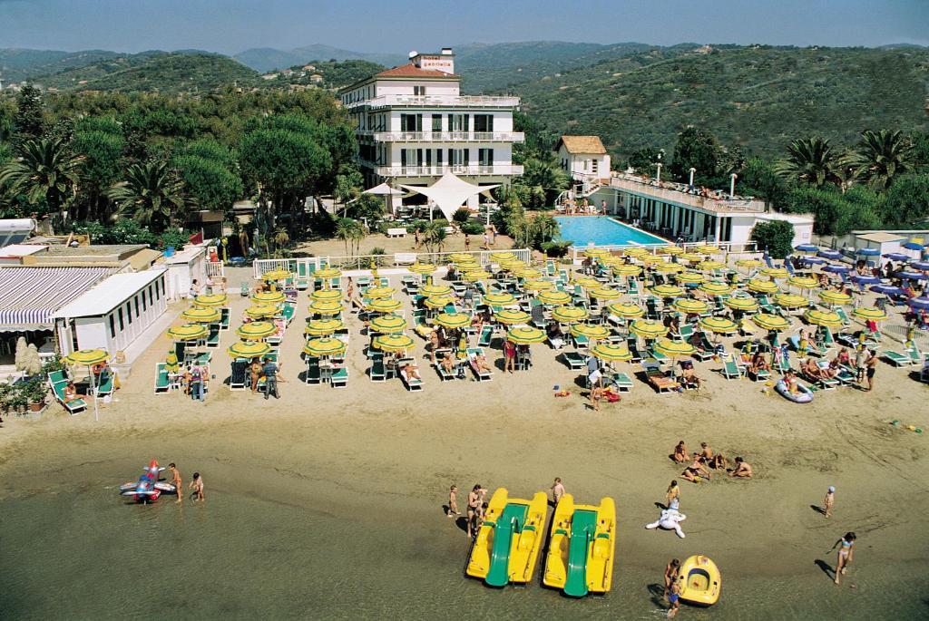 Vista aerea di Hotel Gabriella