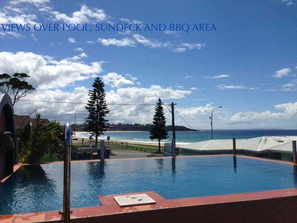 The swimming pool at or near Beach House Mollymook